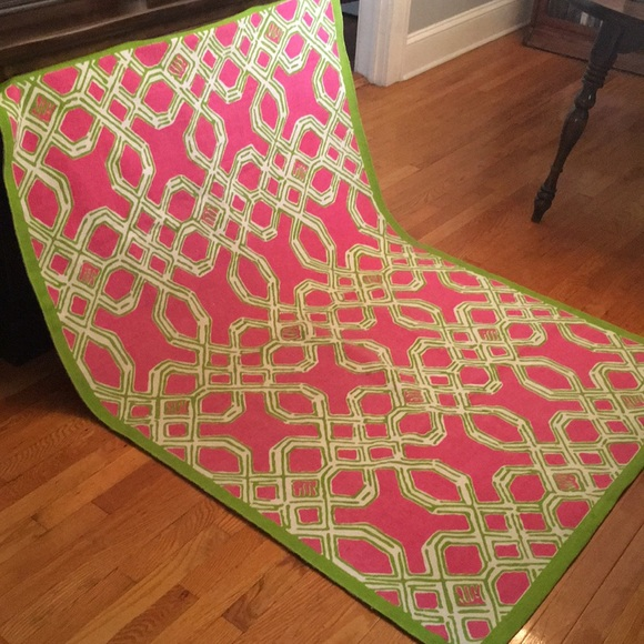 e35ff7117a4e4a Lilly Pulitzer Other - Lilly Pulitzer Well Connected 4' x 6' Area Rug